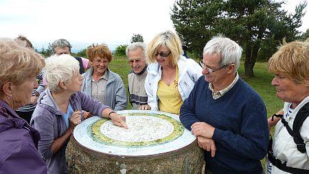 La table d'orientation du Puy Vaveyron